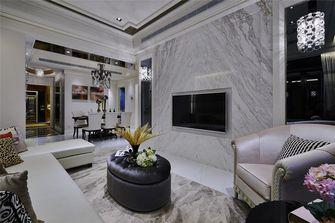 140平米三室四厅新古典风格客厅装修图片大全