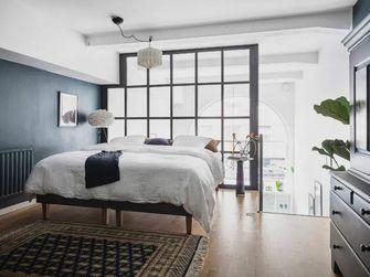 70平米复式北欧风格卧室图片