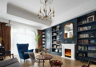 140平米复式法式风格书房装修效果图