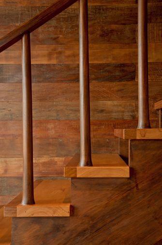 经济型80平米中式风格楼梯图片