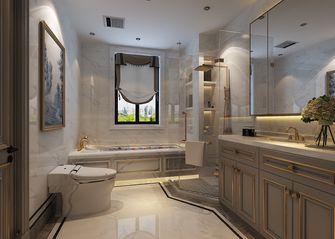 140平米四室三厅美式风格卫生间设计图