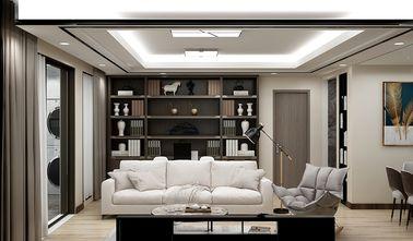 100平米三室两厅英伦风格客厅效果图