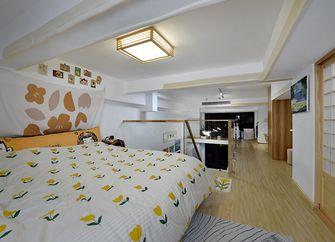 50平米复式日式风格卧室欣赏图