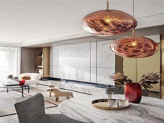 100平米三室三厅法式风格餐厅装修图片大全