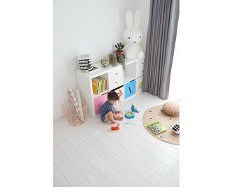 80平米三室一厅北欧风格儿童房图片大全
