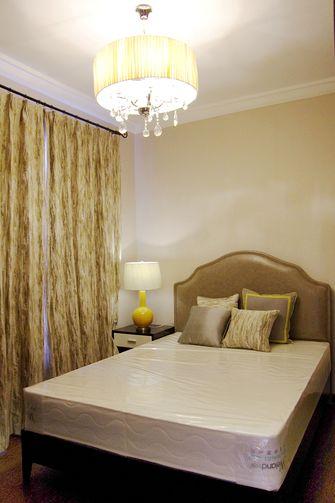 120平米三室两厅混搭风格卧室图片大全