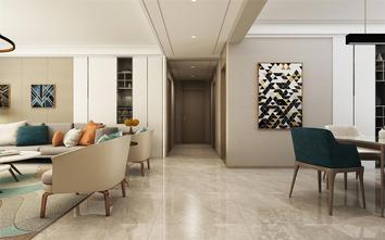 140平米四室两厅现代简约风格玄关装修案例