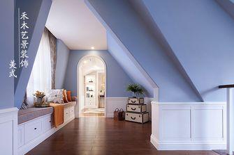 10-15万80平米三室一厅美式风格楼梯设计图