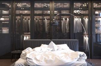 50平米小户型英伦风格卧室设计图