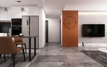 110平米三室一厅北欧风格走廊装修图片大全