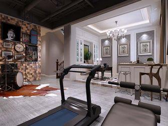 经济型140平米三室两厅北欧风格健身室装修图片大全