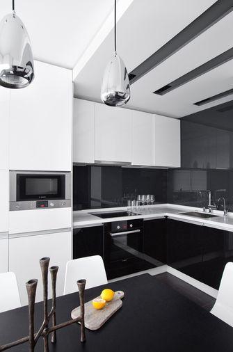 70平米一居室现代简约风格厨房图