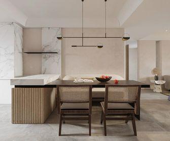 140平米四室一厅日式风格餐厅设计图