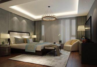 140平米四室五厅中式风格卧室设计图