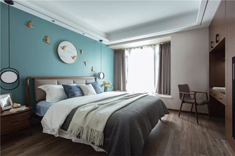 100平米三中式风格卧室图片