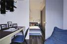 110平米三室三厅北欧风格书房设计图