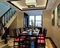5-10万110平米四室一厅中式风格楼梯图片大全