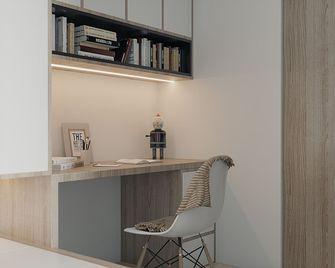 50平米一居室现代简约风格卧室设计图