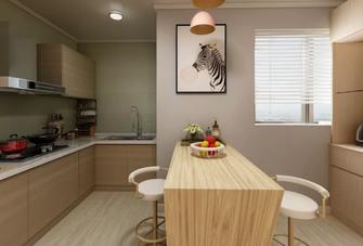 80平米公寓北欧风格餐厅效果图
