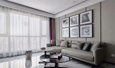110平米三室一厅现代简约风格客厅欣赏图