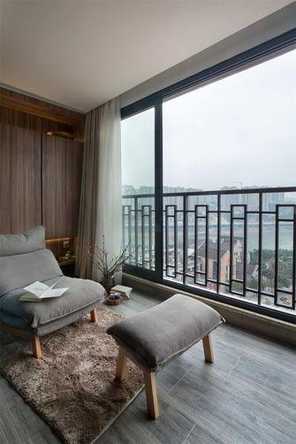 110平米三室两厅日式风格阳台图片