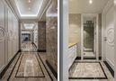 140平米四室三厅新古典风格走廊图片