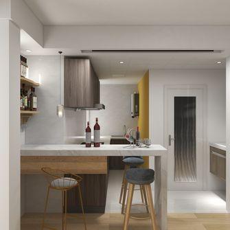 80平米现代简约风格餐厅图