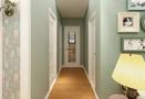 70平米田园风格走廊设计图