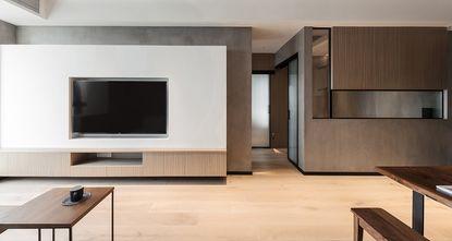 80平米一室一厅现代简约风格客厅效果图