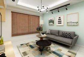 80平米三現代簡約風格客廳裝修圖片大全