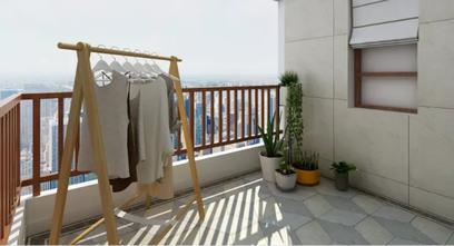 140平米四地中海风格阳台欣赏图