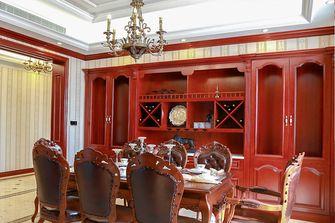 120平米四室两厅英伦风格餐厅图