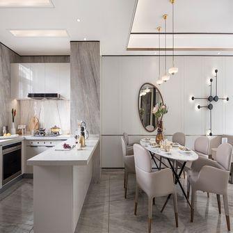 140平米四室四厅现代简约风格餐厅图片