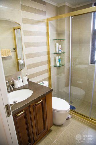 10-15万140平米三室两厅美式风格卫生间图