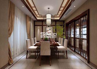 20万以上140平米别墅中式风格餐厅背景墙效果图