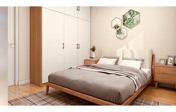 60平米一居室北欧风格卧室图