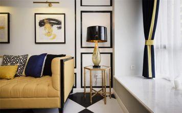 60平米新古典风格客厅图片