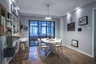 120平米三室两厅混搭风格餐厅装修效果图