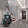 140平米复式美式风格楼梯间设计图