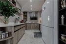 130平米四英伦风格厨房图