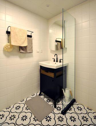 120平米日式风格卫生间设计图