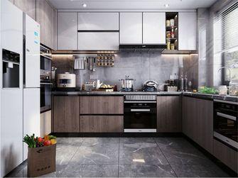 90平米三室两厅美式风格厨房装修案例