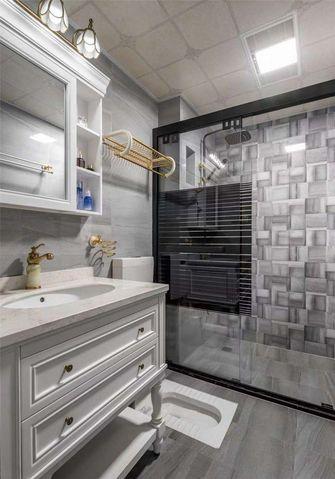 90平米三室两厅欧式风格卫生间设计图