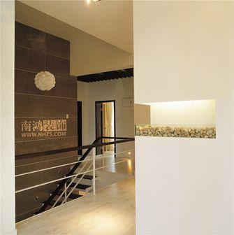 富裕型140平米别墅现代简约风格楼梯装修效果图