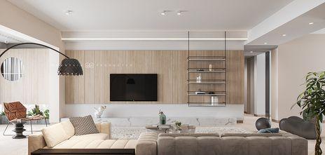 140平米四宜家风格客厅装修案例