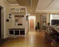 120平米三室一厅田园风格玄关欣赏图