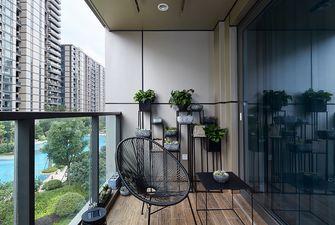 140平米三室两厅现代简约风格阳台装修图片大全