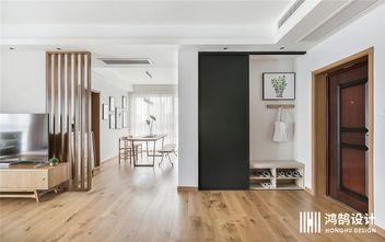 130平米三室两厅日式风格玄关图片大全