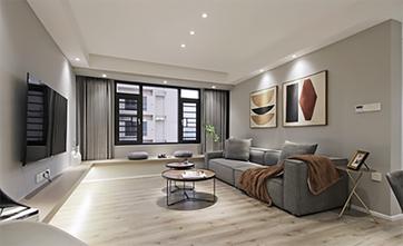 70平米现代简约风格客厅图片大全