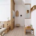 140平米三室两厅日式风格玄关图片